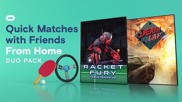 Racket Fury & Death Lap sur Oculus Rift & Quest (Dématérialisé)