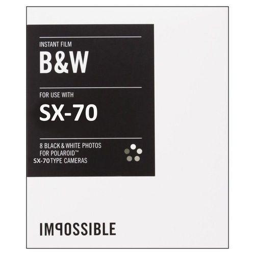 Film instantané NB Impossible pour Polaroid SX70