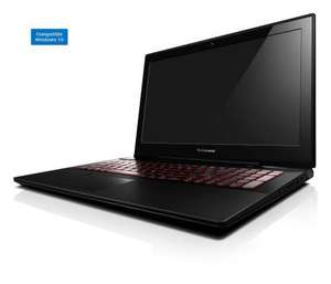 "PC Portable 15,6"" Lenovo Y50-70 59445983 : i5-41210H, 8 Go RAM, 1 To HDD"