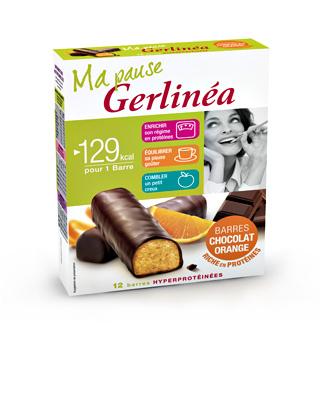 Barres GERLINÉA Hyperprotéinées ou Substitut de repas