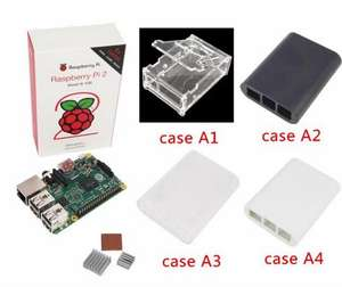 Raspberry Pi 2 + Boîtier + Dissipateur