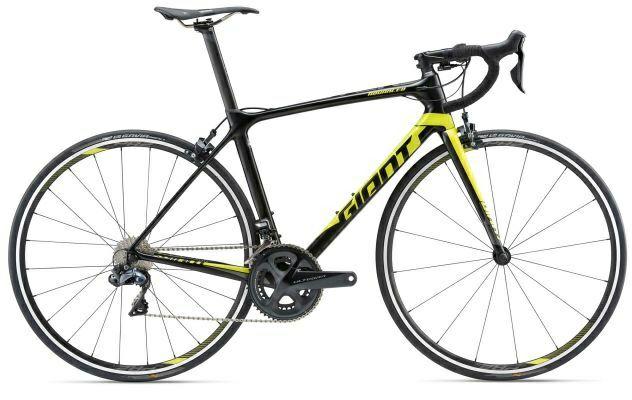 Vélo Giant TCR Advanced 0 2019 (Ultégra DI2) - Noir/Jaune