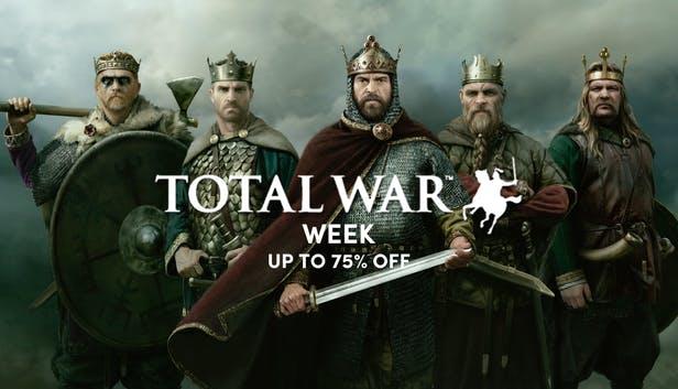Total War Week - Promo sur jeux et packs Total War - (Ex: Medieval: Total War™ - Collection)