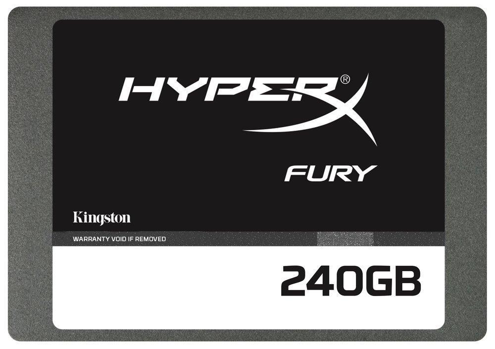 SSD Kingston HyperX Fury (Mémoire MLC) - 240 Go