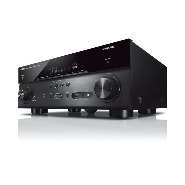 Ampli home-cinéma 7.2 Yamaha MusicCast RX-A780 (Noir) - WiFi, Bluetooth, 95W par canal, 0,06% THD