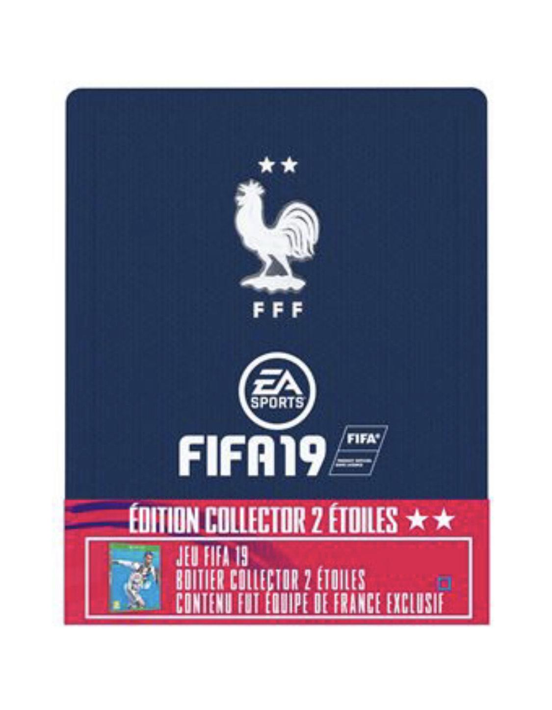 FIFA 19 - Edition 2 étoiles avec steelbook sur PS4 et Xbox One