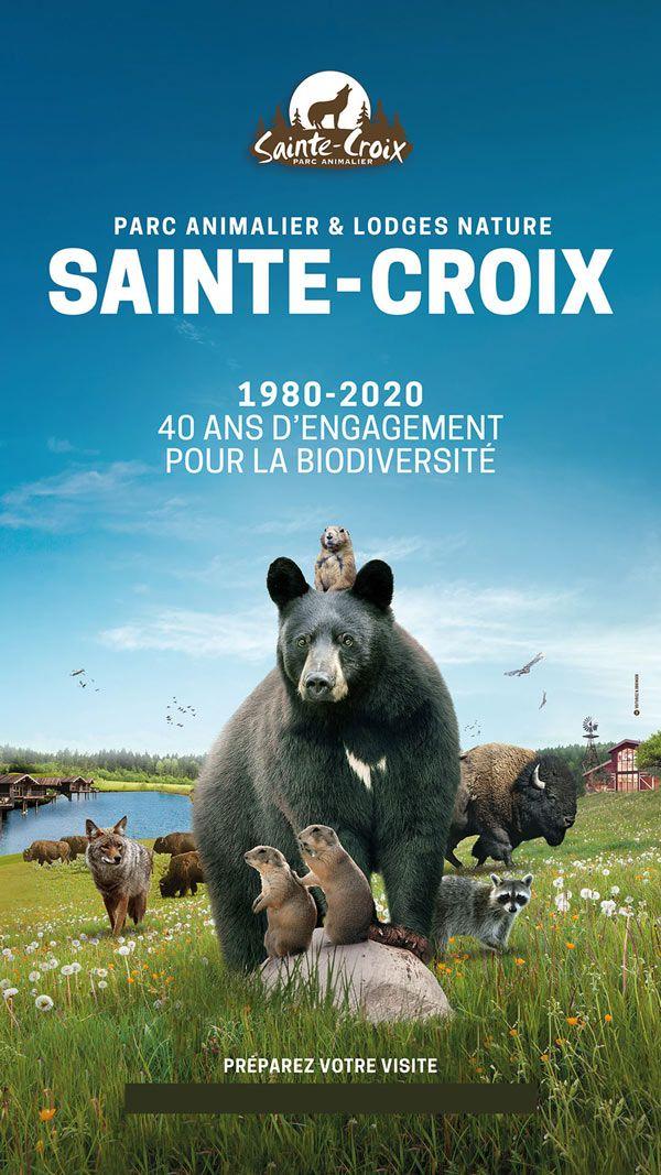 Billet entrée pour les 3-11 ans à 13€ et pour les + de 12 ans - Parc Animalier de Sainte-Croix