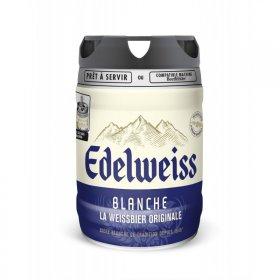 Lot de 2 fûts de bière Edelweiss