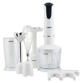 Robot Plongeant 4 En 1 H.Koenig Mix75 - Blanc, 750W