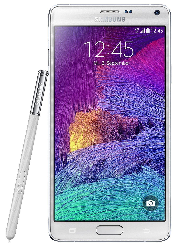 "Smartphone 5.7"" Samsung Galaxy Note 4 - 32 Go, Blanc"