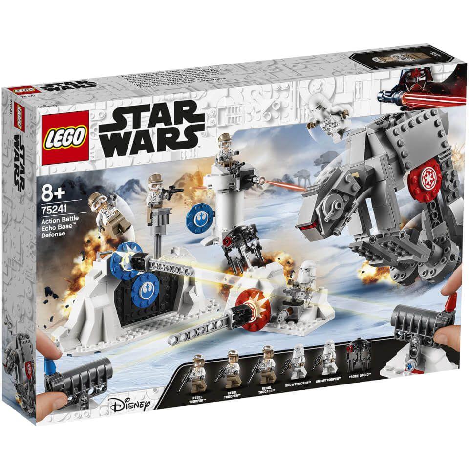 Jouet Lego Star Wars - Action Battle La défense de la base Echo -75241 (Via 12.38€ sur Carte Fidélité)