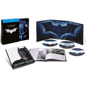 La trilogie Batman begins, The Dark Knight - The Dark Knight Rises - 5 Blu-ray + 1 livret [Blu-ray]