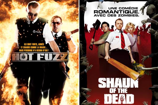 Films Hot Fuzz et Shaun of the Dead visionnables gratuitement en streaming (Dématérialisé - Universcine.com)