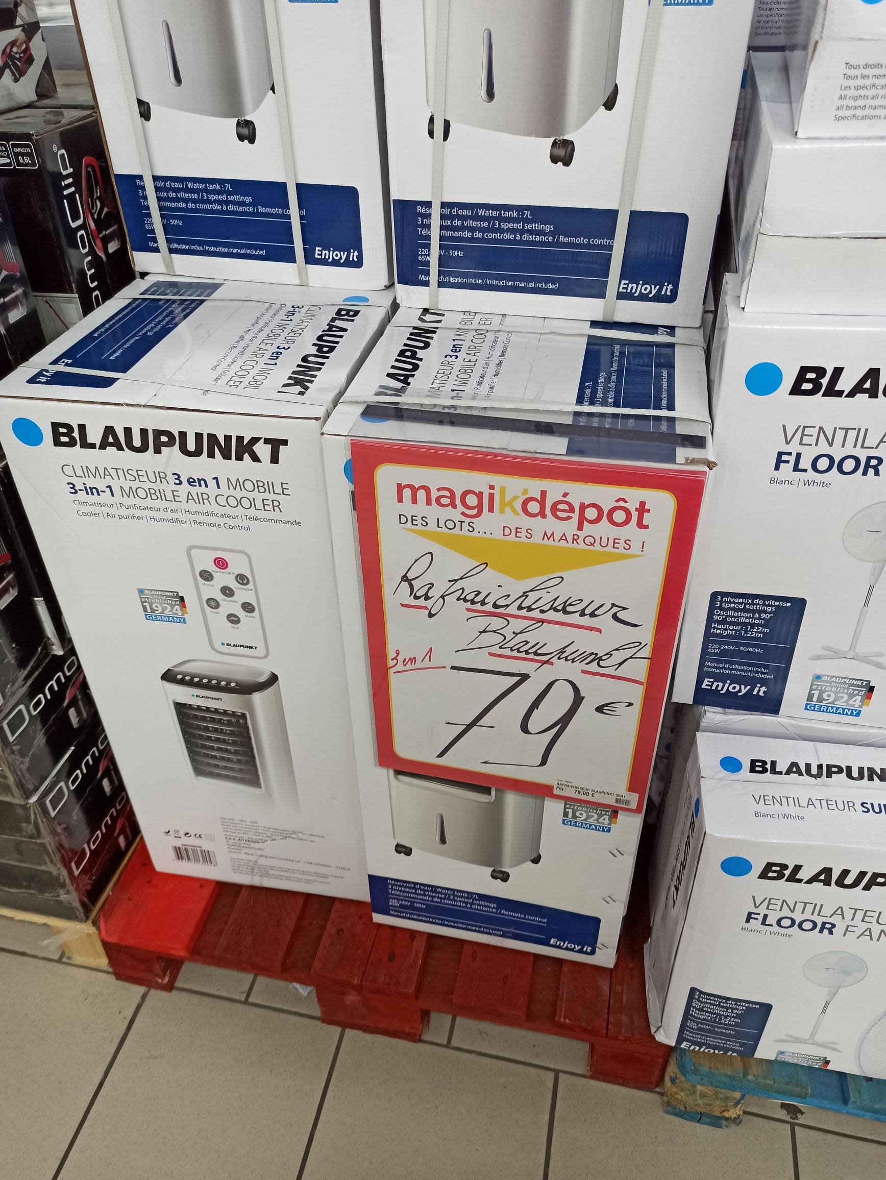 Rafraîchisseur 3en1 Blaupunkt Mobile Cooler - à Magik'depot (Coquelles 62)