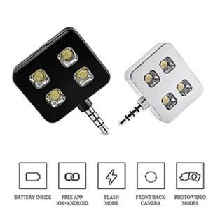 Lampe Flash LED Selfie (ports inclus)