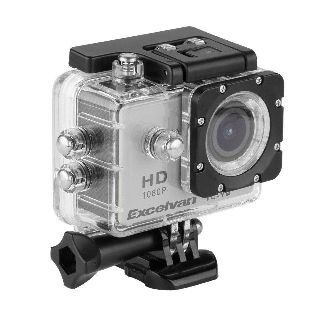 Caméra sportive Excelvan TC-Y8 1080p - Argent