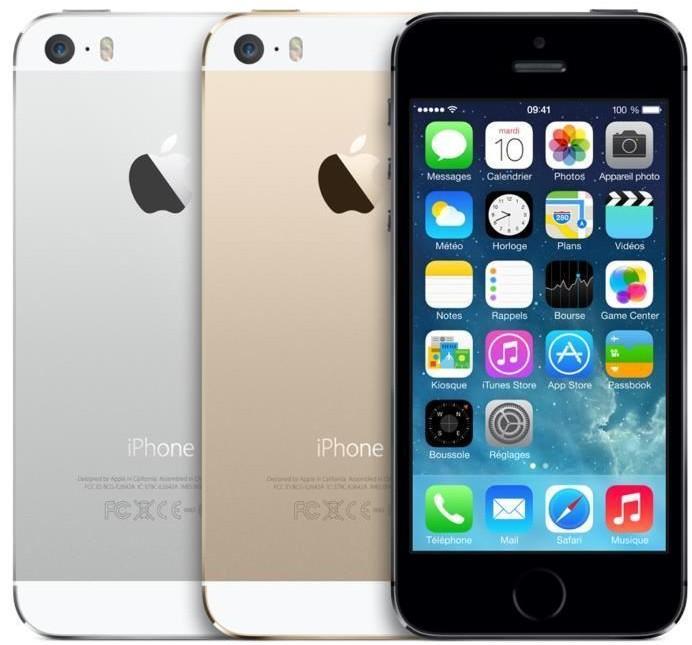 Smartphone iPhone   5S  Argent 4G - 16 Go