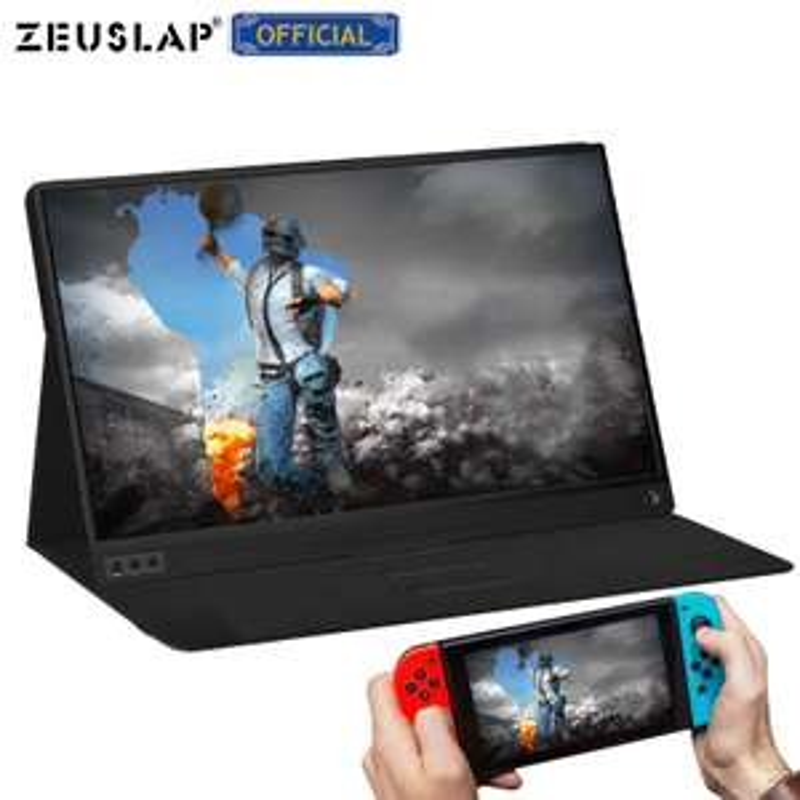 "Ecran portable 15,6"" Zeuslap - Full HD, Dalle IPS, LED, USB-C, HDMI (77,94€ avec SDFR10)"