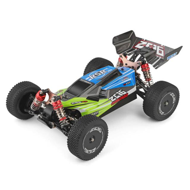 Voiture télécommandée RC WLtoys 144001 - 1/14, 2.4G 4WD (58,96€ avec le code SDFR7)