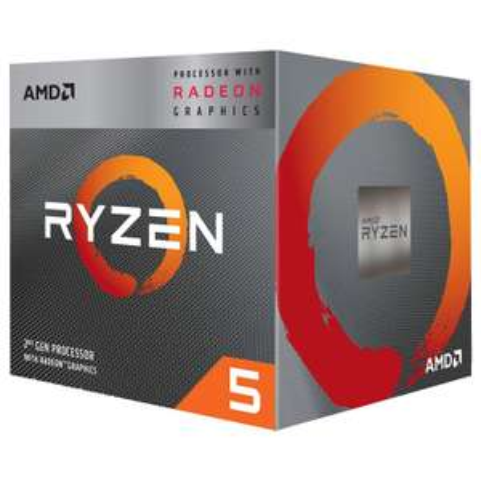 Processeur AMD Ryzen 5 3400G (4C / 8T, 6 Mo de cache, 4,2 GHz Max Boost) / RX Vega 11