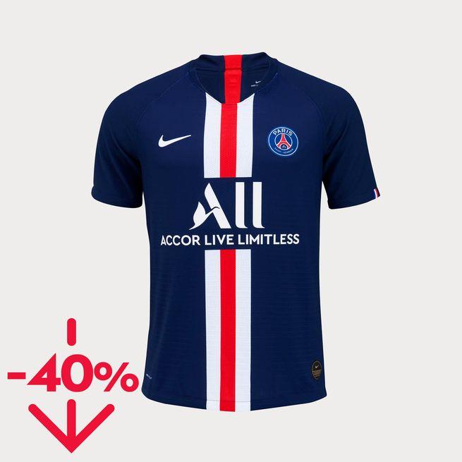 Maillot PSG Domicile Match 19/20 (Plusieurs tailles)