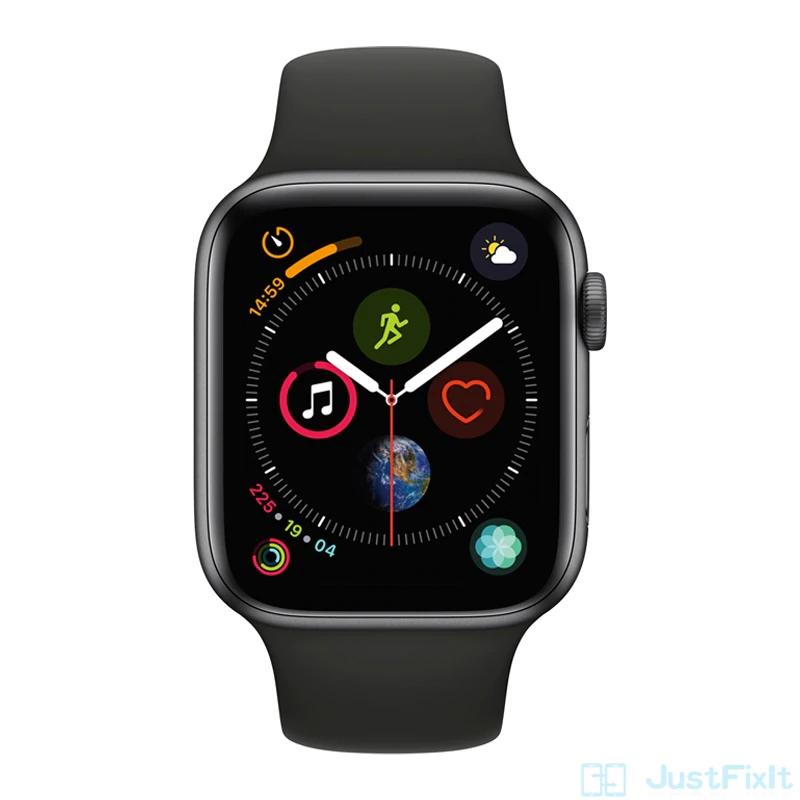 Montre connectée Apple Watch Series 4 GPS + Cellular (44 mm, bracelet Sport) - reconditionnée (272.67€ via SDFR12)