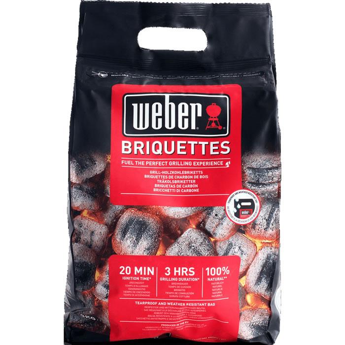 Briquette charbon de bois Weber (3 kg) - Saint-Jean-de-Védas (34)