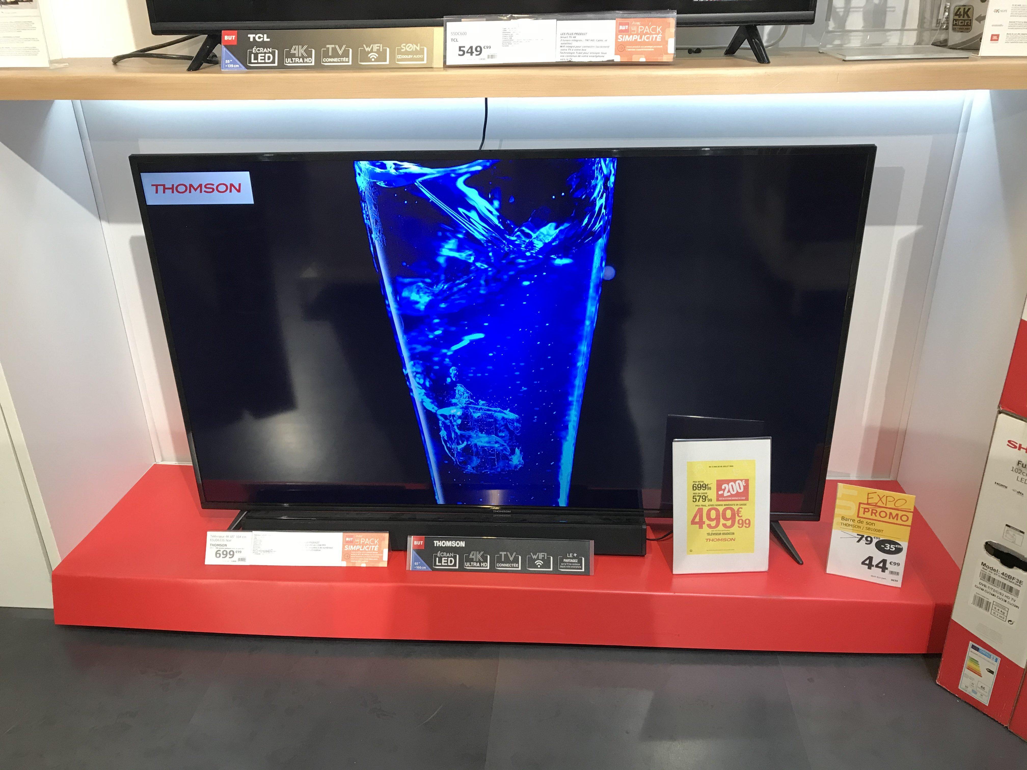 "TV 65"" Thomson 65UD6336 - 4K UHD, Smart TV - Gennevilliers (92)"