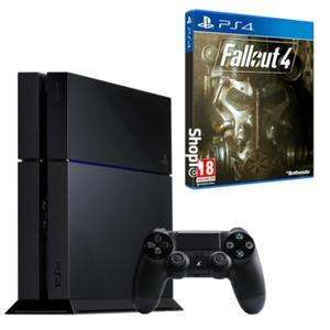 Pack Console Sony PS4 500 Go Noire + Fallout 4