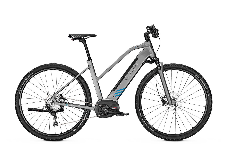 """Vélo à assistance électrique VTC 28"""" Kalkhoff Entice 5.B Advance 2019 (500 Wh, taille S) - Ovelo.fr"""