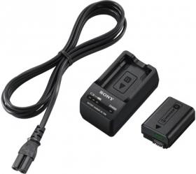 Kit d'accessoires pour appareil photo Sony Kit ACC-TRW (Batterie NP-FW50 + Chargeur BC-TRW)