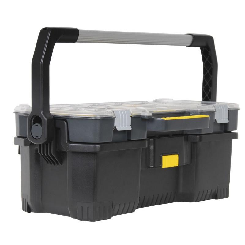 Boîte à outils avec organisateur Stanley (cotebrico.fr)