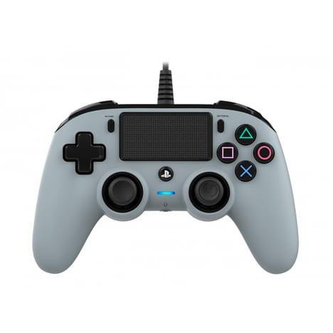 Manette filaire Nacon pour PS4 - Grise