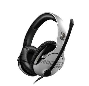 Casque gaming filaire Roccat Khan Pro - Blanc