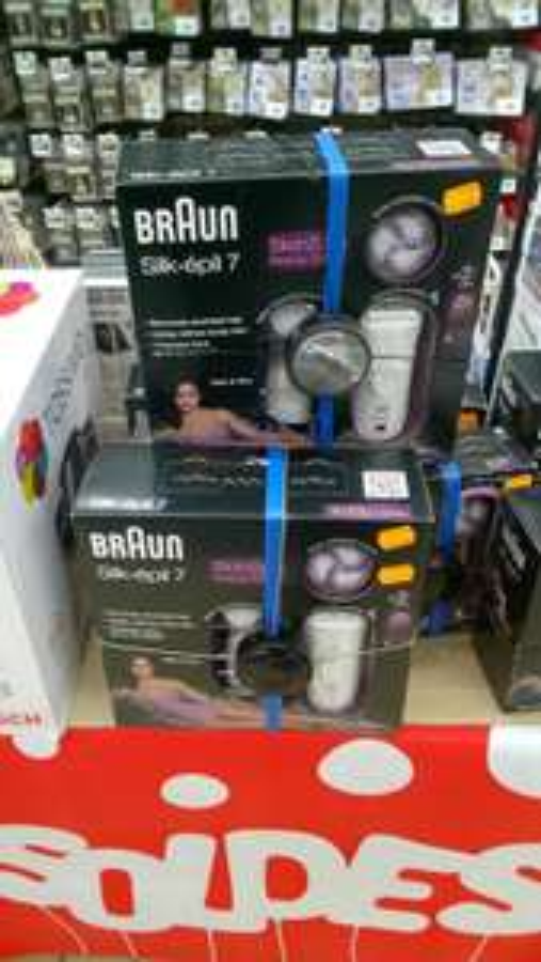 Epilateur Braun Silk Epil 7 SkinSpa Beauty Edition