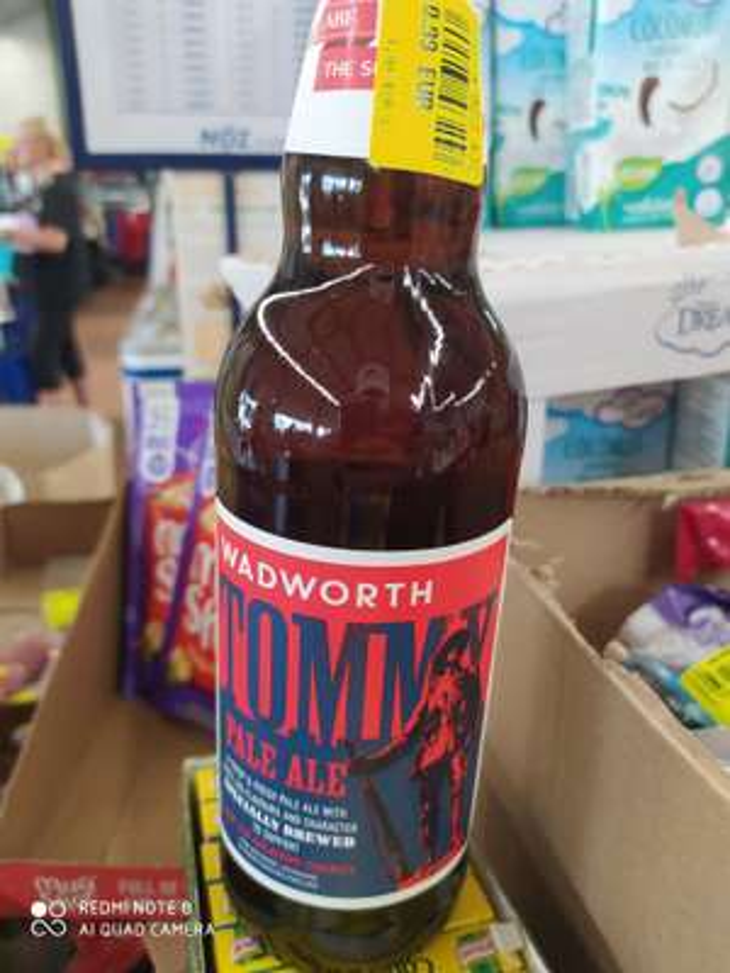Bouteille de Bière Tommy Wadsworth Pale Ale - 0.5L - Feurs (42)