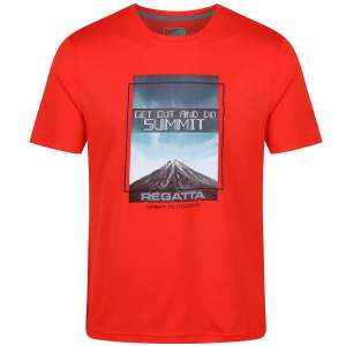 T-Shirt Randonnée Regatta Fingal III Amber Glow - Du S au XL