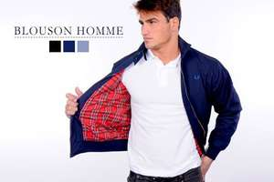 Blouson Fred Perry 3 coloris