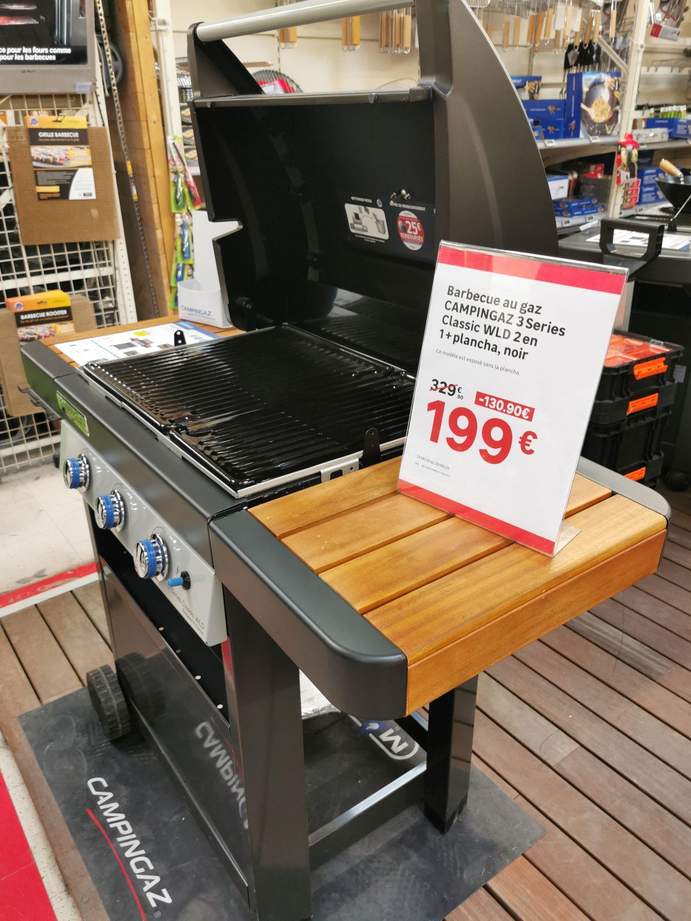 Barbecue à gaz Campingaz 3series Classic WLD - Leroy Merlin Nice Lingostiere (06)