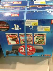 Console Sony PS3 12 Go + God of War + Uncharted + Little Big Planet