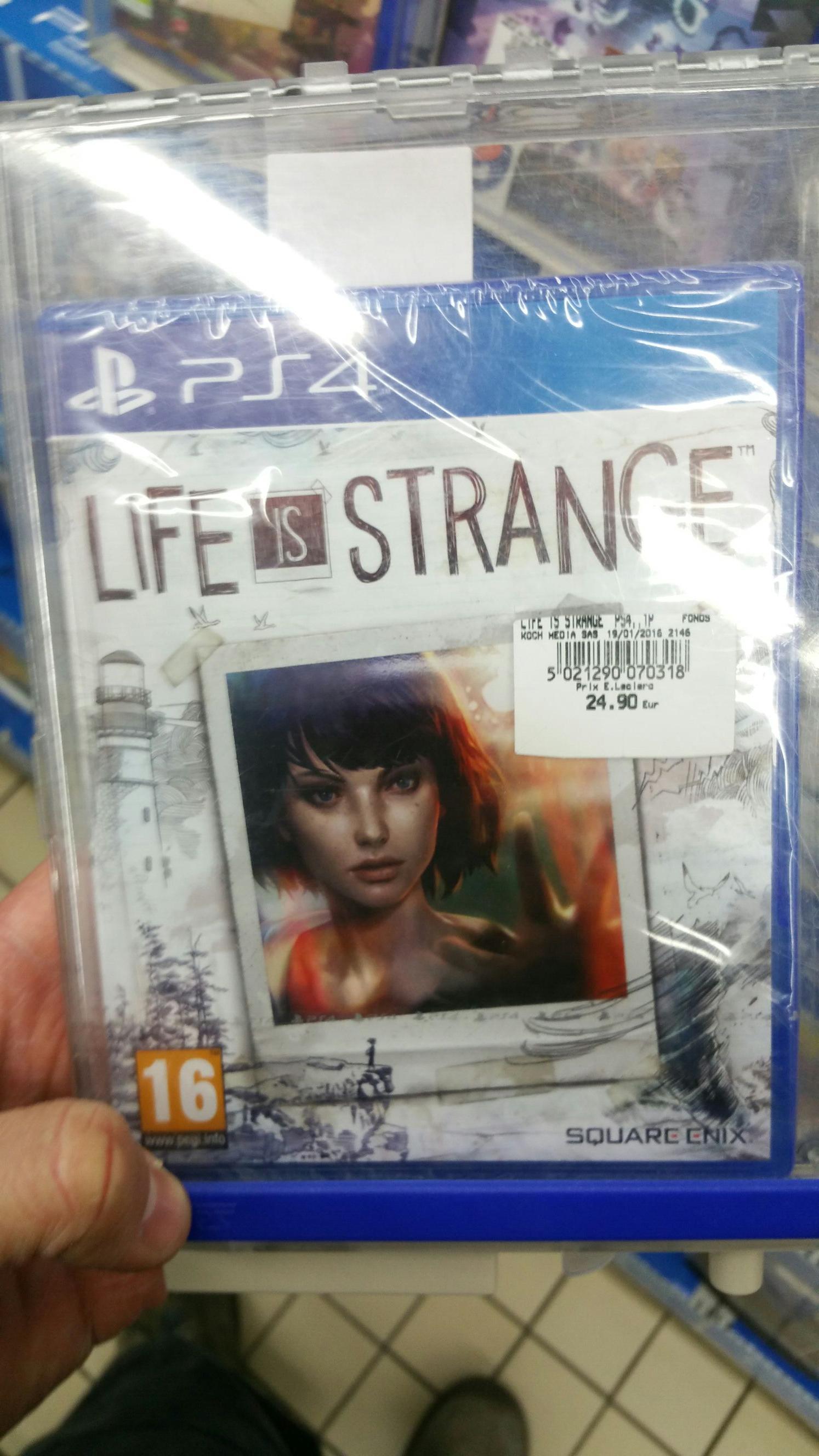 Life is Strange sur PS4