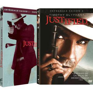 Justified saisons 1 et 2 DVD