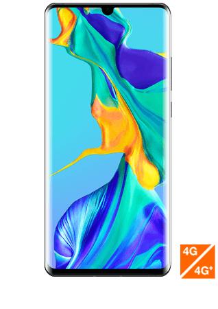 """[Clients Sosh ou Orange] Smartphone 6.47"""" Huawei P30 Pro - Full HD+, Kirin 980, 8 Go de RAM, 128 Go, Noir (Reconditionné - Comme neuf)"""