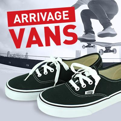 Sélection de Sneakers Vans à 29.99€ –