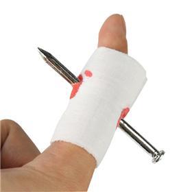 Bandage au doigt Halloween blessé