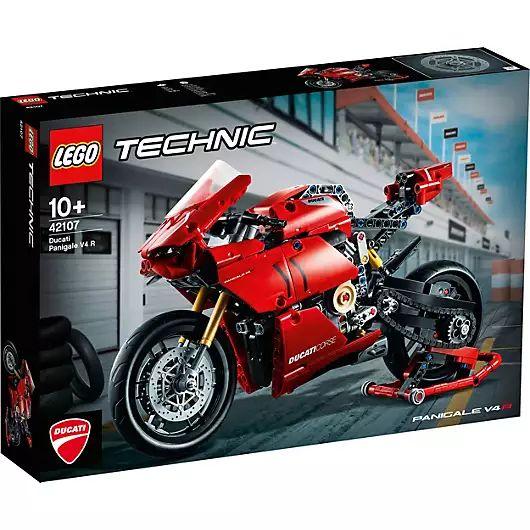 Jeu de Construction Lego Technic 42107 Ducati Panigale V4 R