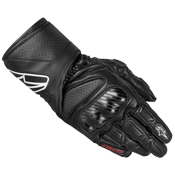 Gants de moto Alpinstars SP-8 - Noir (Tailles M au XL)