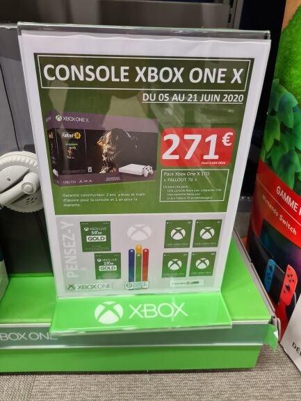 Console Microsoft Xbox One X (1 To) + Fallout 76 (dématérialisé) - Rezé (44)