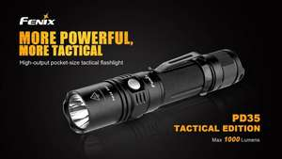 Lampe Torche Fenix PD35 Tactical Edition - 1000 Lumens