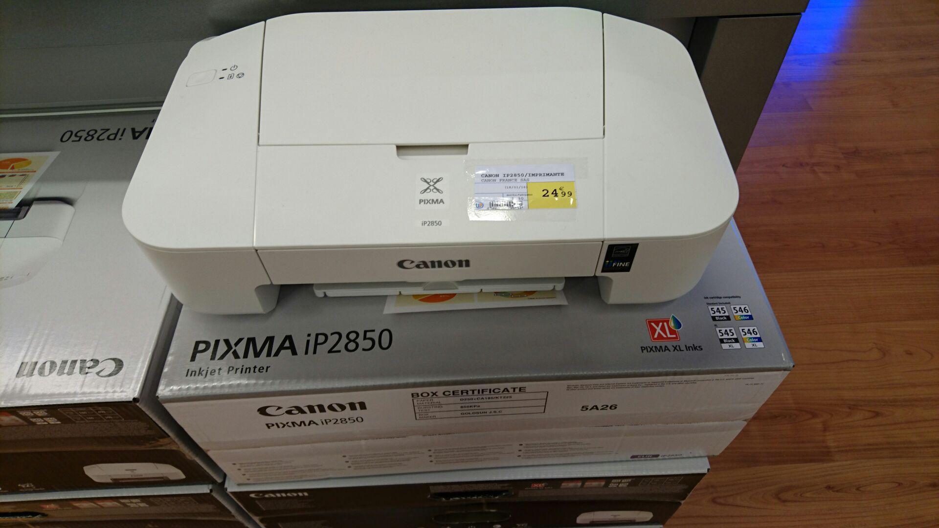 Imprimante Canon Pixma IP2850